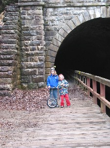 Pawpaw Canal Tunnel with uni